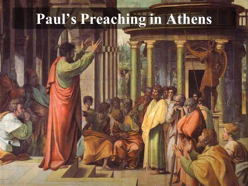 Paul's Preaching in Athens