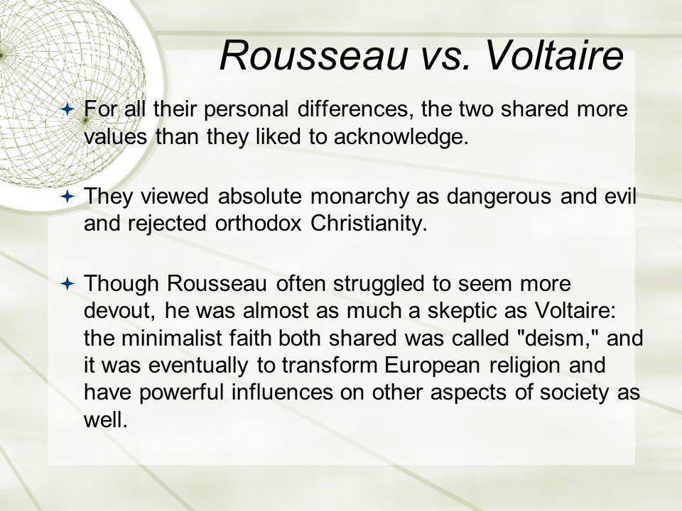 Rousseau vs.