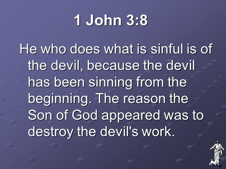Question #3 Since the devil still tempts us, in what way did Jesus free us from him?
