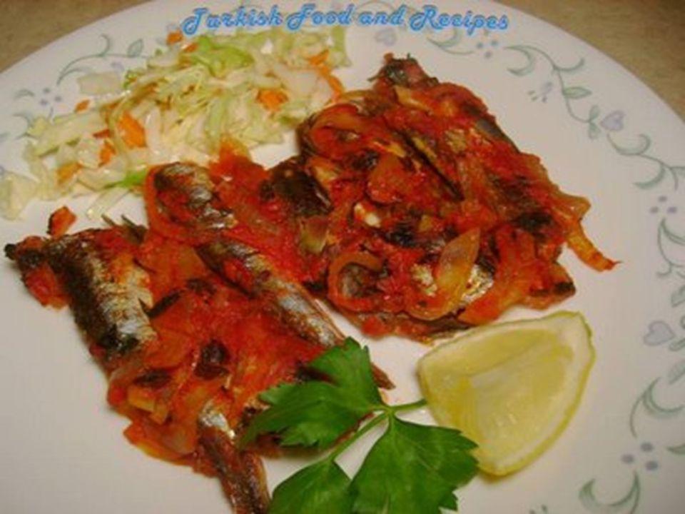 Baked Anchovy (Firinda Hamsi)