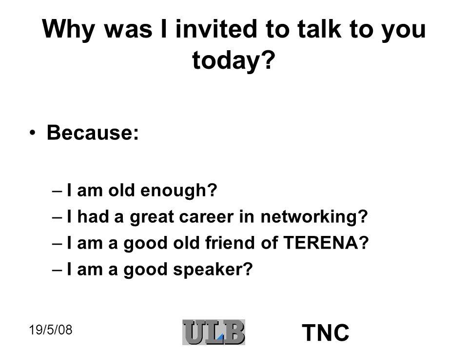 19/5/08 TNC I am a good speaker .
