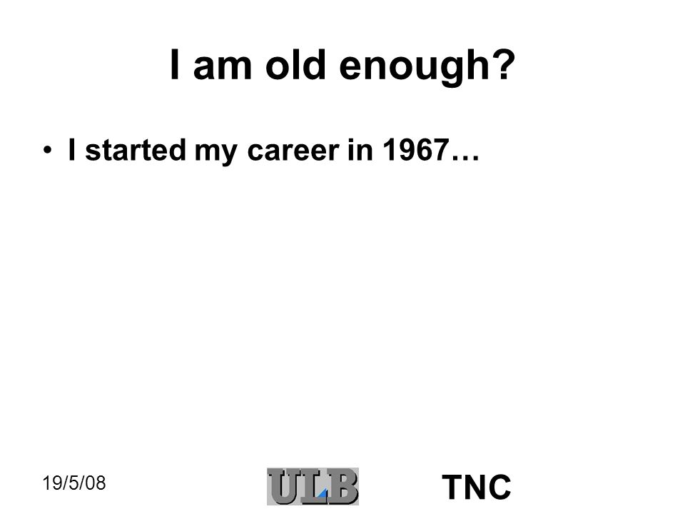 19/5/08 TNC BEgrid I must have one slide about BEgrid.