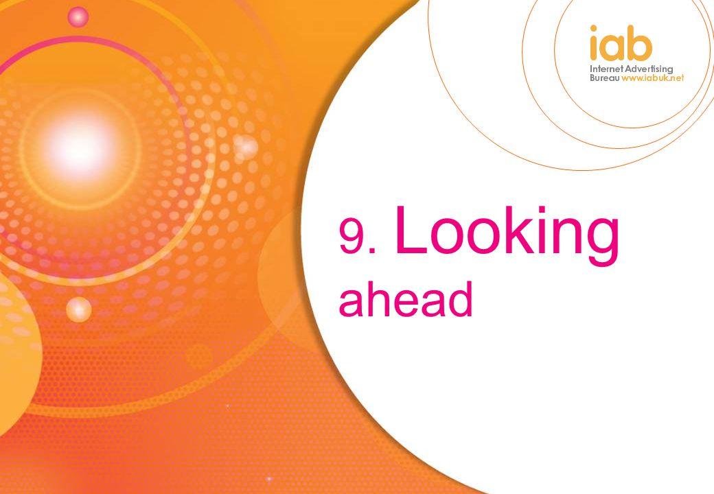 9. Looking ahead