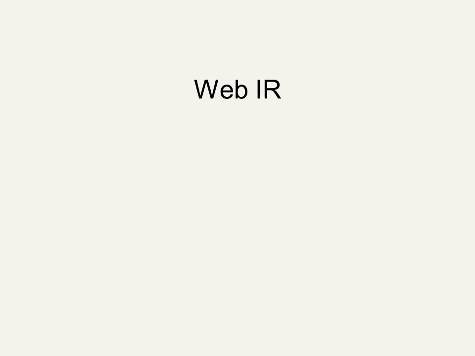 Web IR