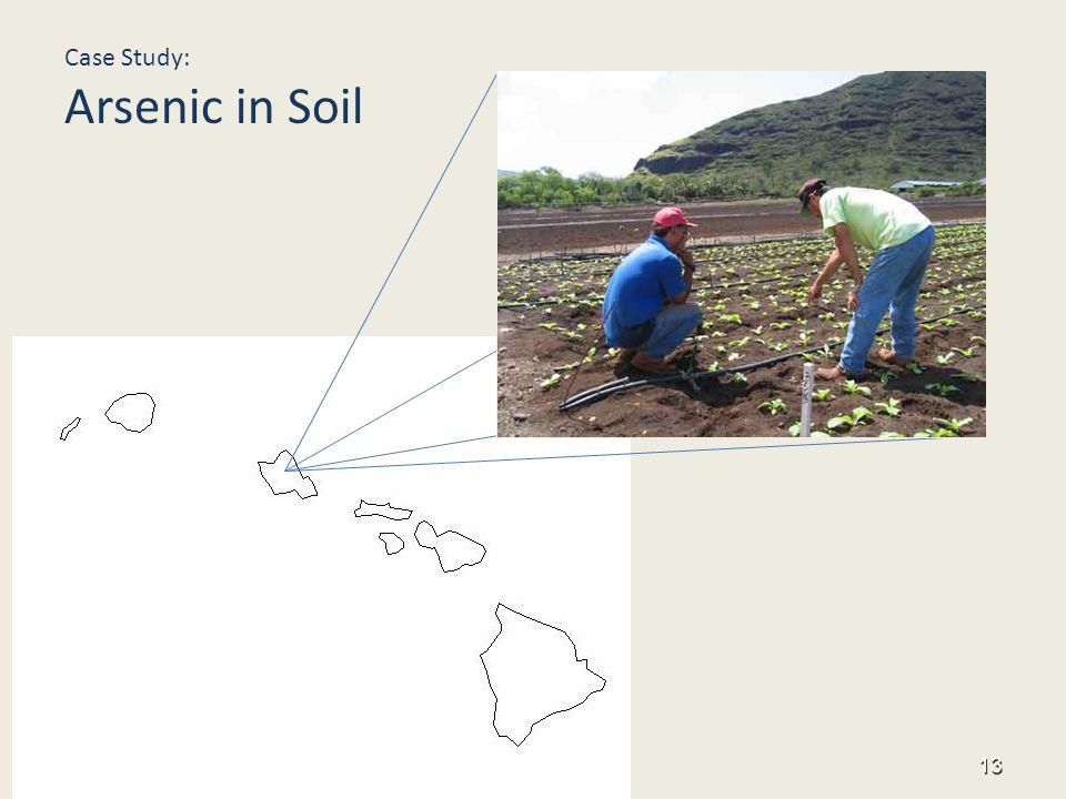 Hawai'i Case Study: Arsenic in Soil 13