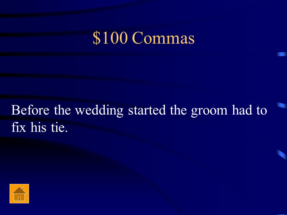 $100 Commas 2 Stephen understood the lesson on March 17 2014 during the review.