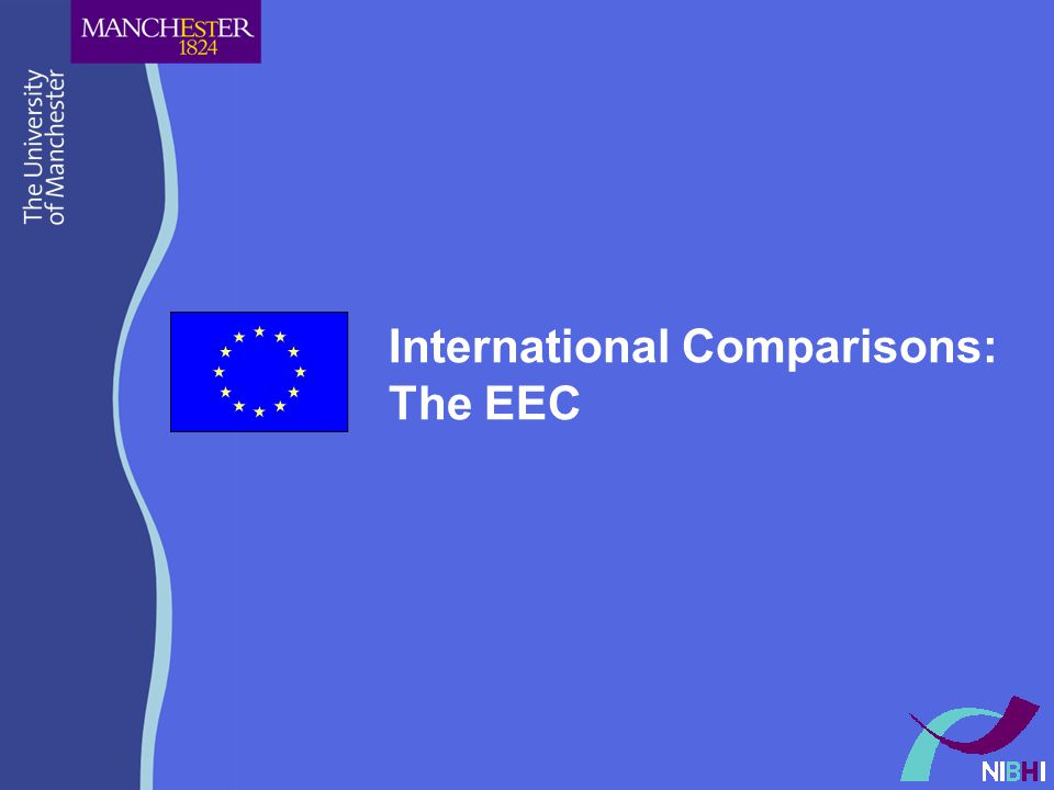 International Comparisons: The EEC