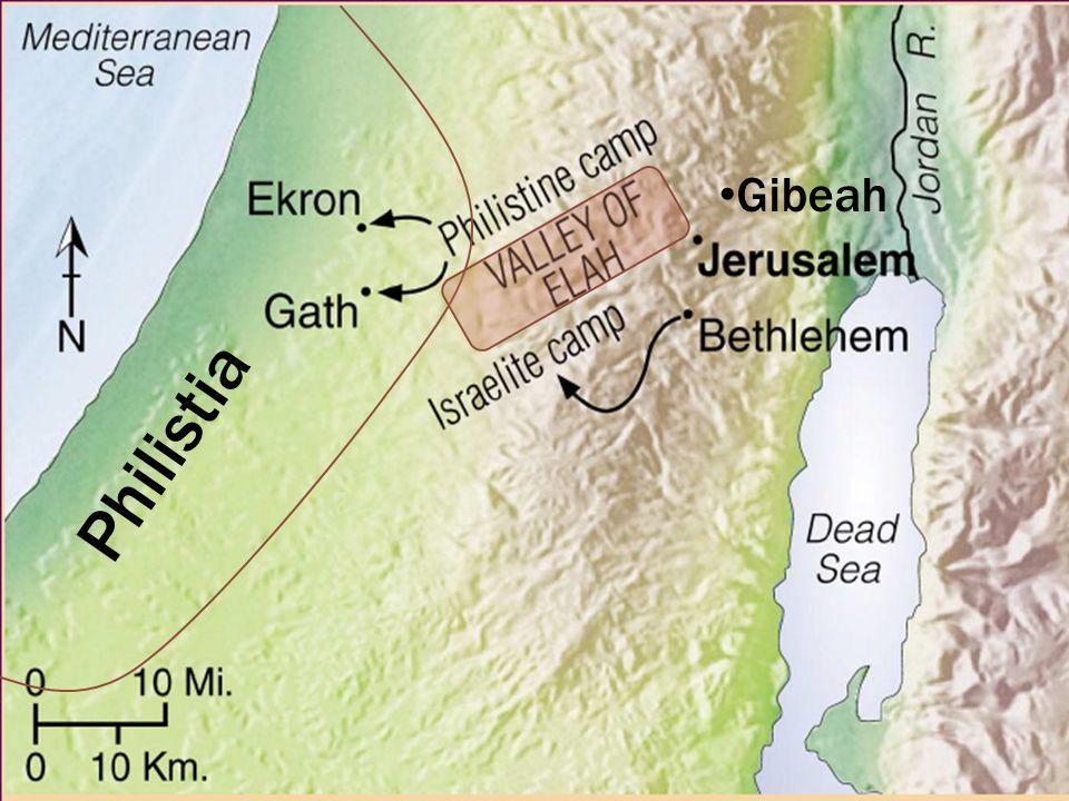 Philistia Gibeah