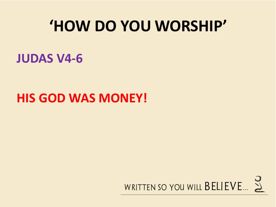 'HOW DO YOU WORSHIP' JESUS V7-8 7 Leave her alone, Jesus replied.