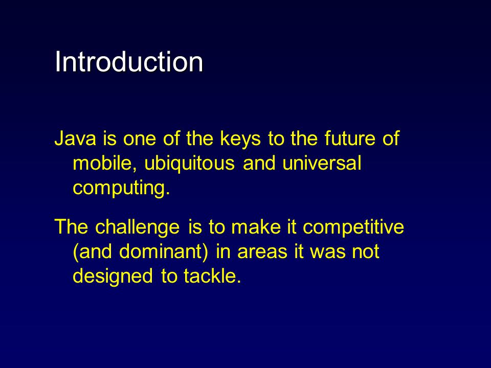 Java Implementation Arthur Sale & Saeid Nooshabadi The background to a Large Grant ARC Application