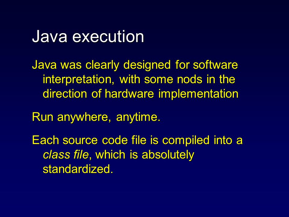Introduction Java is one of the keys to the future of mobile, ubiquitous and universal computing.