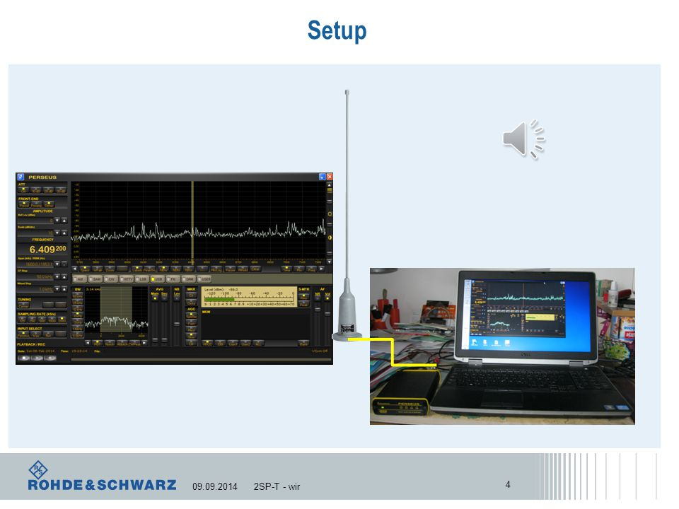 Status Monitoring Activities The Setup... 3 2SP-T - wir09.09.2014