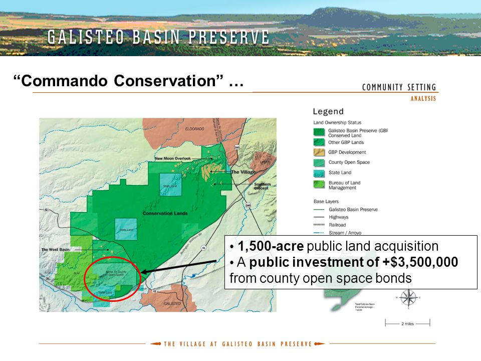 "1,500-acre public land acquisition A public investment of +$3,500,000 from county open space bonds ""Commando Conservation"" …"