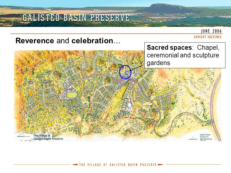 Reverence and celebration… Sacred spaces: Chapel, ceremonial and sculpture gardens