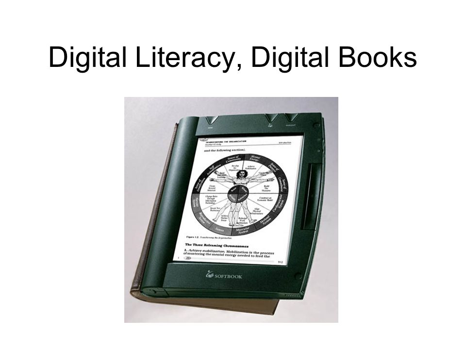 Does a new literacy call for a new book model.