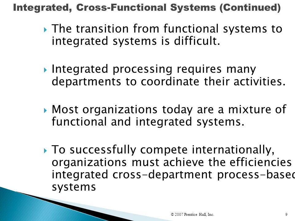 © 2007 Prentice Hall, Inc.90 Siebel Systems identified a number of key factors in successful change management.