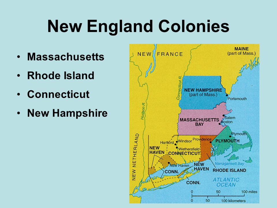 Rhode Island 1630's, Roger Williams troubled puritans in Mass –said land belonged to the Natives –he believed in complete toleration –believed in separation of church and state –Williams fled from Mass.