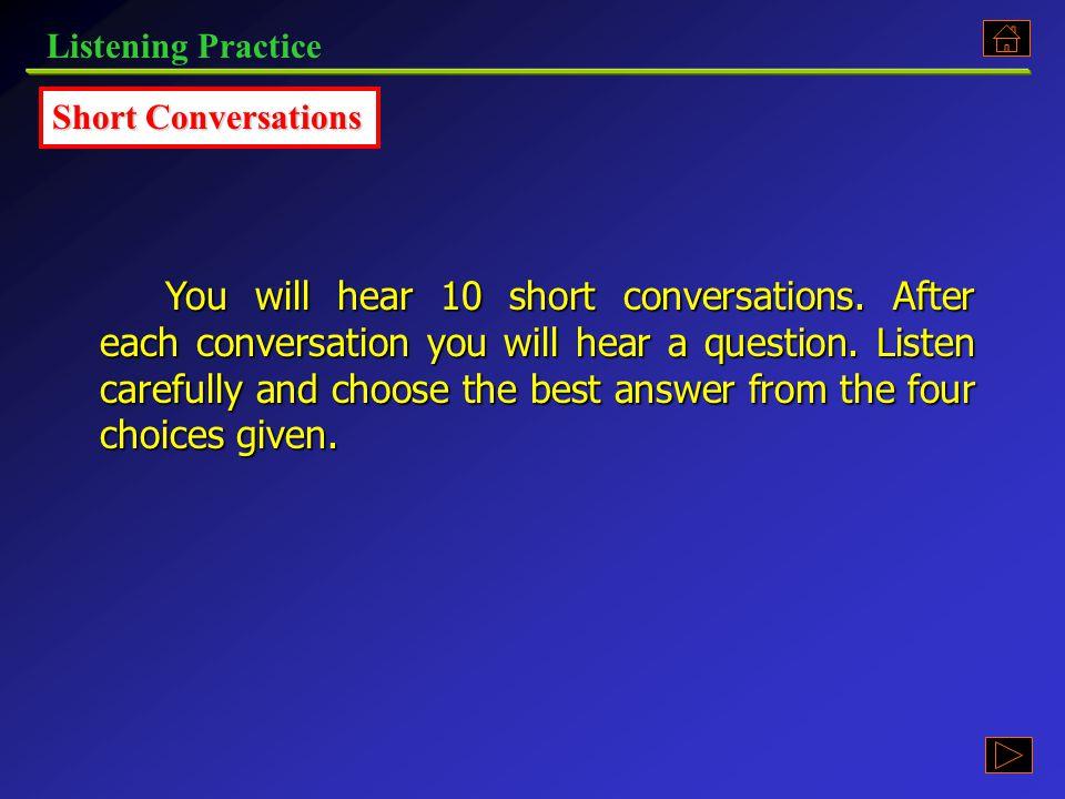 Listening Practice Part 5.3, p. 137 《听说教程 I 》 : Part 5.3, p. 137