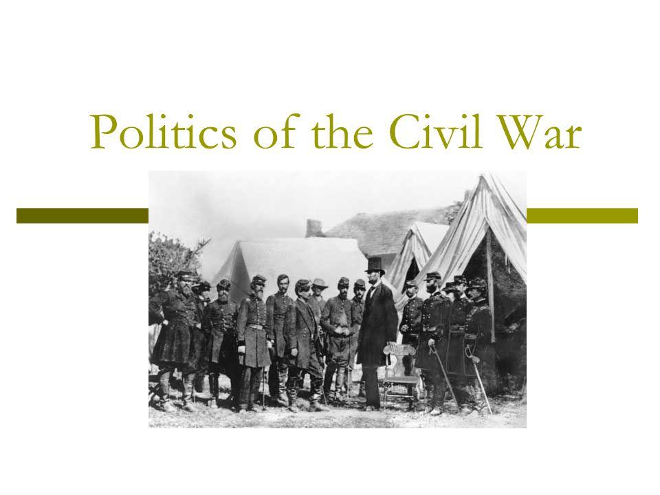 Politics of the Civil War