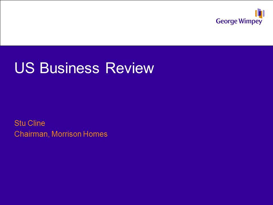 US Business Review Stu Cline Chairman, Morrison Homes