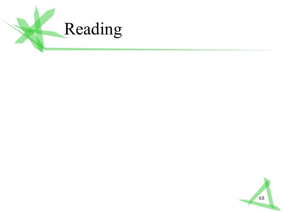 68 Reading
