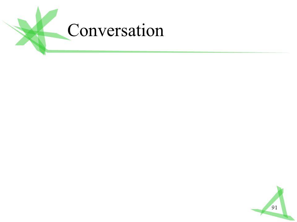 91 Conversation