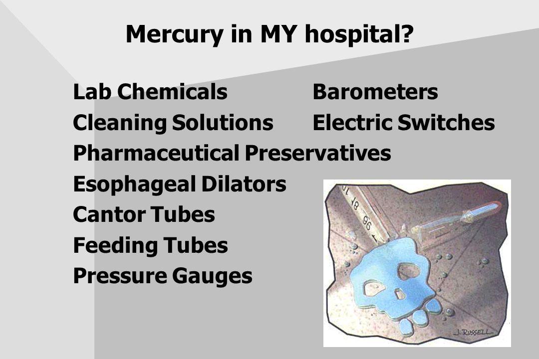 Mercury in MY hospital.
