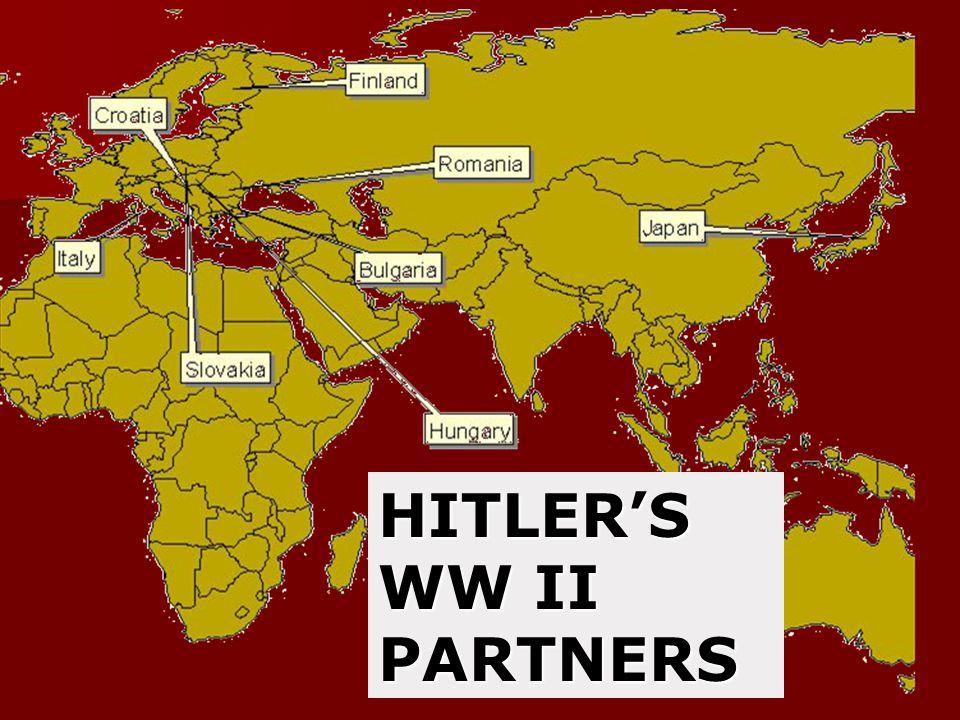 HITLER'S WW II PARTNERS