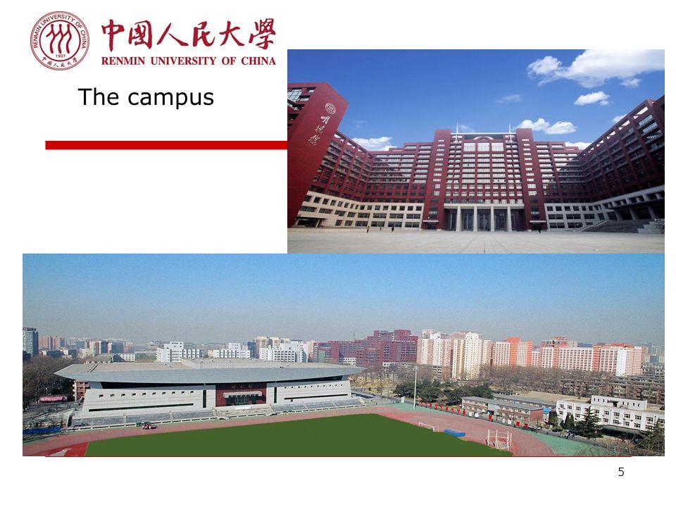 5 The campus