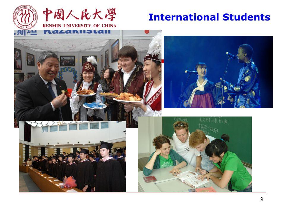 9 International Students
