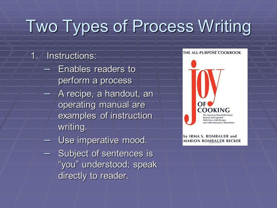 A Process Essay