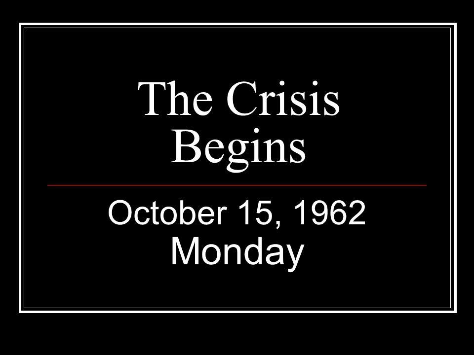 October 18, 1962 President John F.