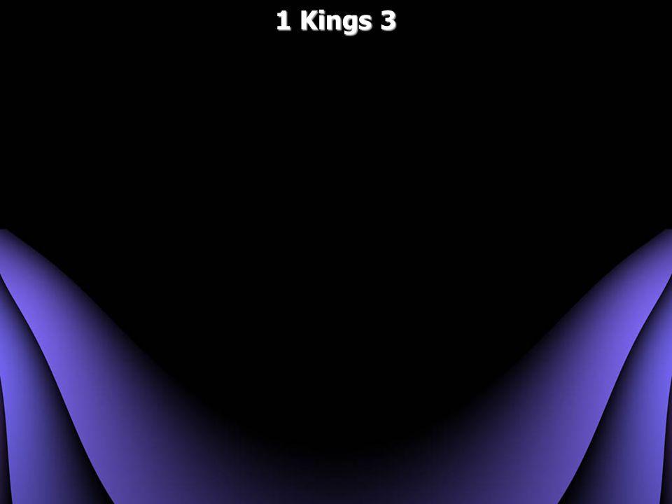 1 Kings 3