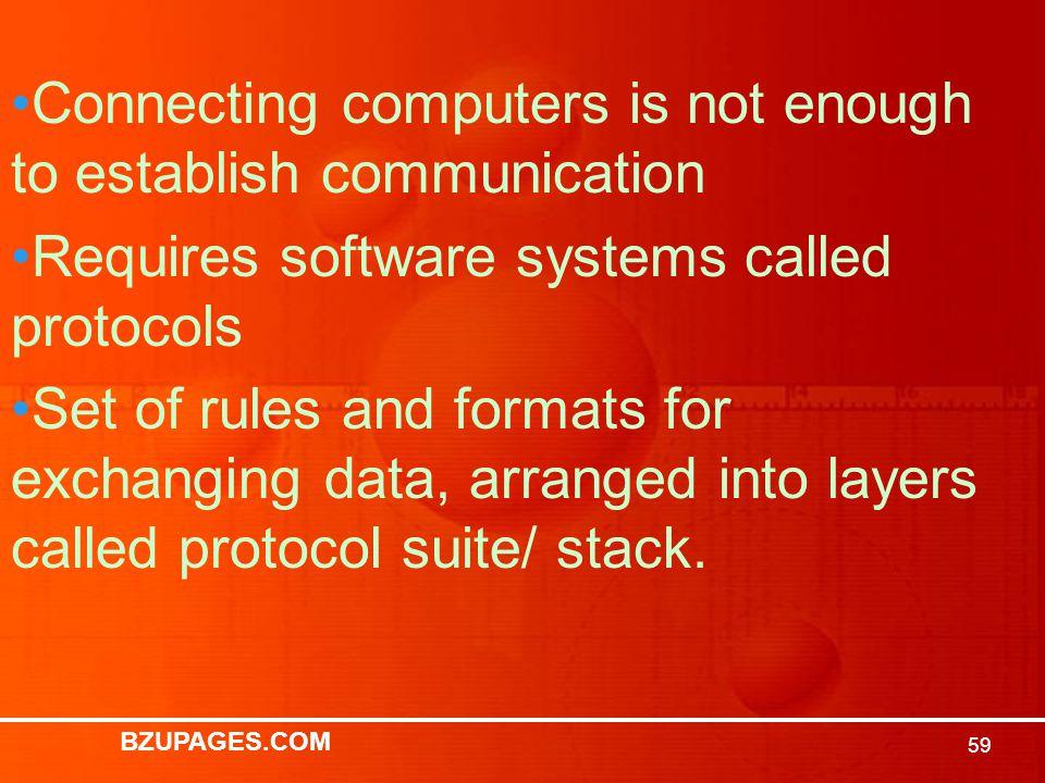 BZUPAGES.COM 58 Protocol Standards