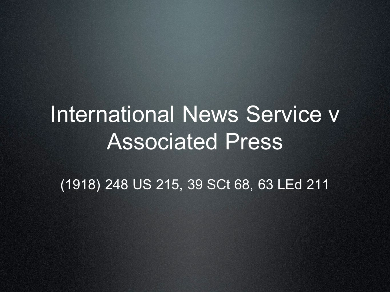 A quick summary 'INS would take AP's hot news stories about World War I battles from publicly distributed New York newspapers that subscribed to the AP service.