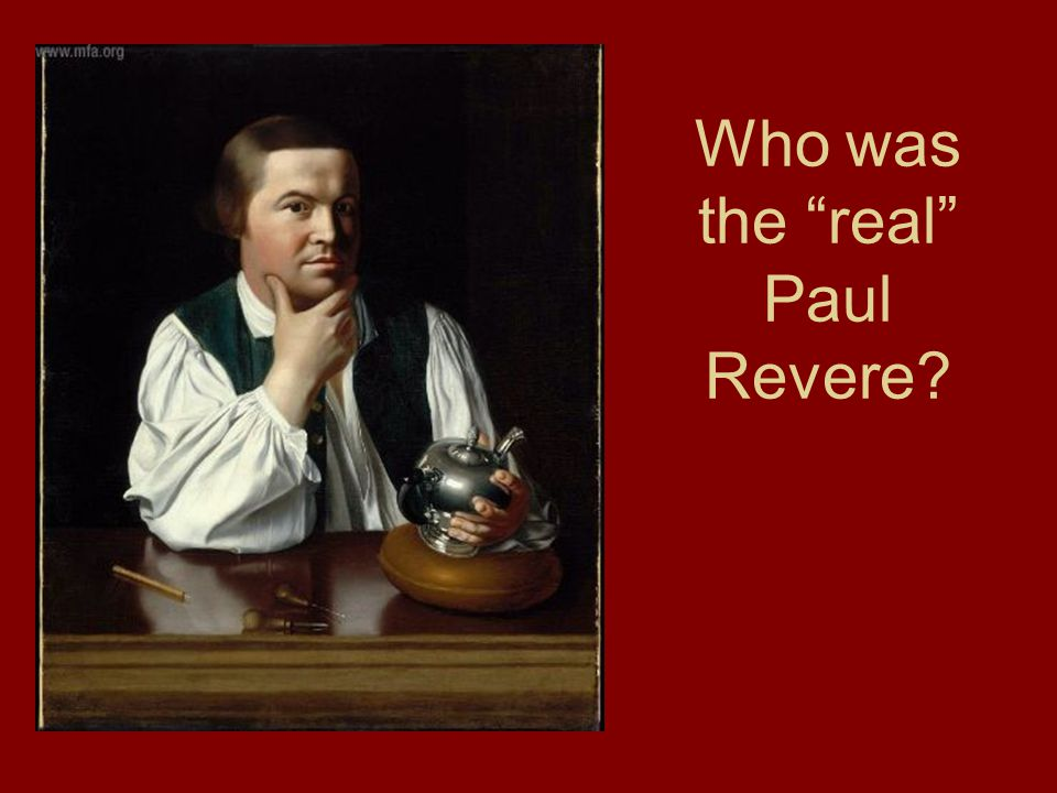 Who was the real Paul Revere?