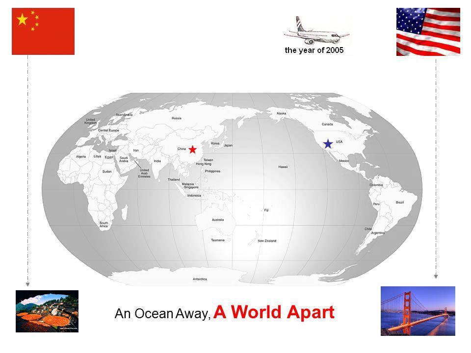 An Ocean Away, A World Apart