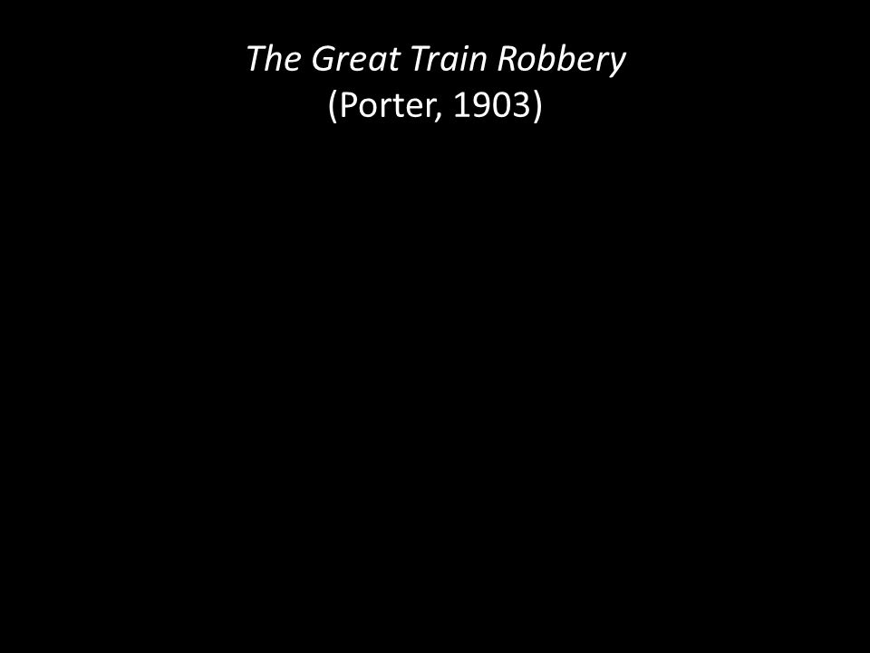 The Great Train Robbery (Porter, 1903)