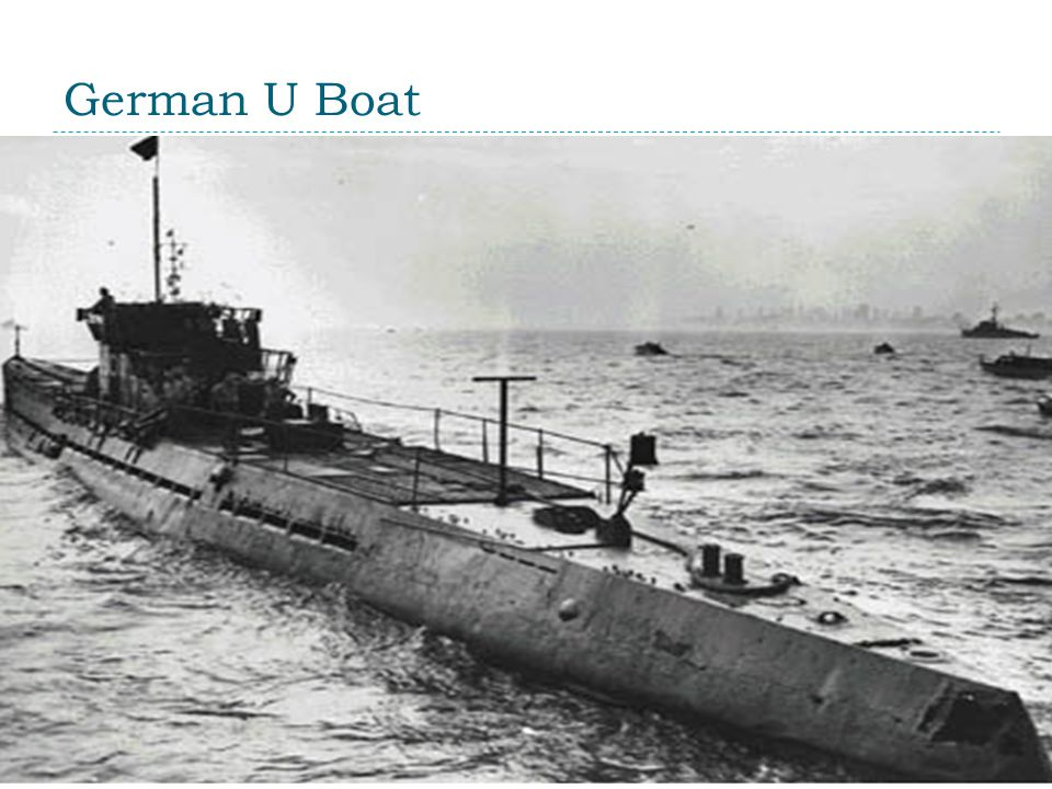 German U Boat