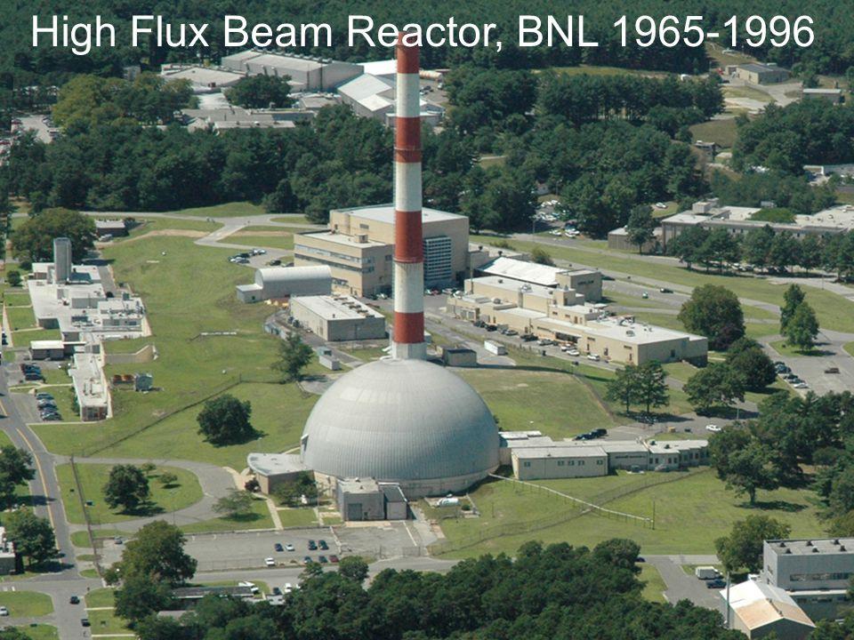 A next Generation of Neutron Source High Flux Beam Reactor, BNL 1965-1996