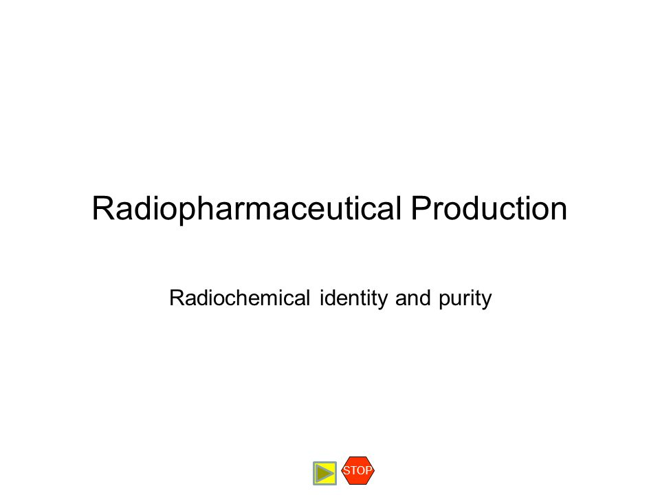 Radiopharmaceutical Production QC Testing Radiochemical Identity and Purity Contents Acceptance Criteria Procedure Discussion Example STOP Radiochemical identity and purity This test is usually done by radio thin layer chromatography (TLC).