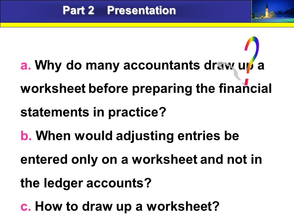 Accounting English Part 2 Presentation a.