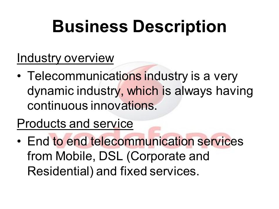 The Market Very competitive market with 3 big mobile operators, and more than 50 Million customers.