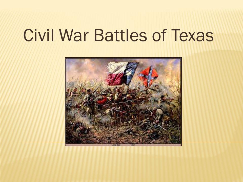 Civil War Battles of Texas