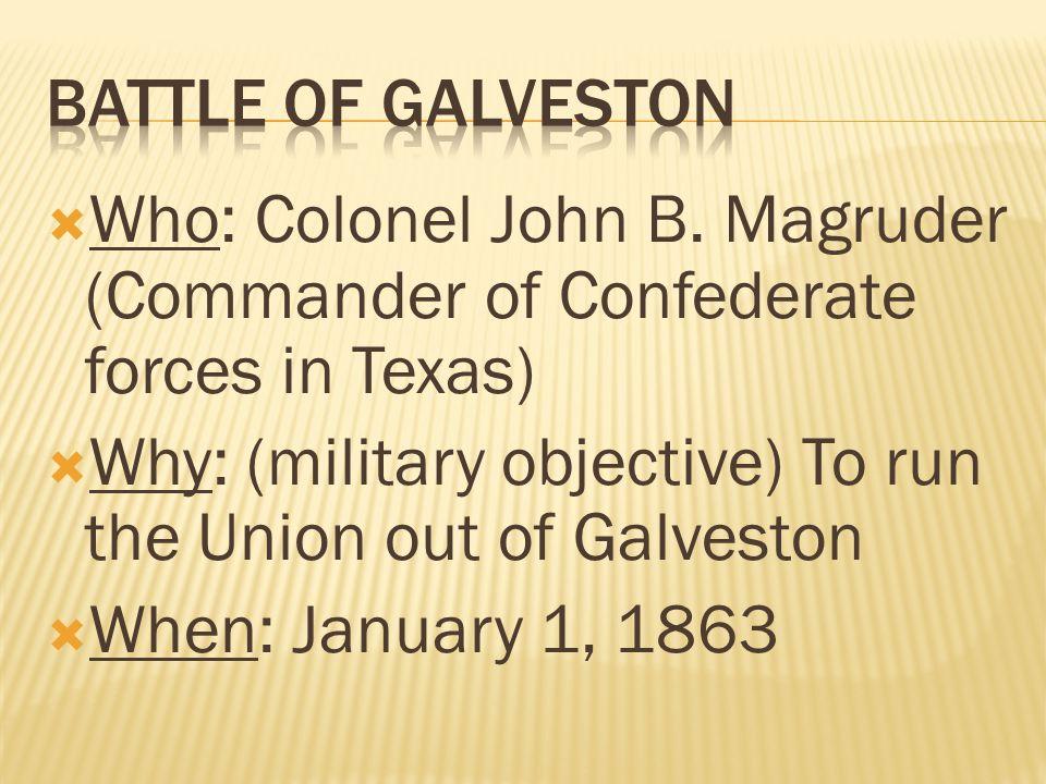  Who: Colonel John B.