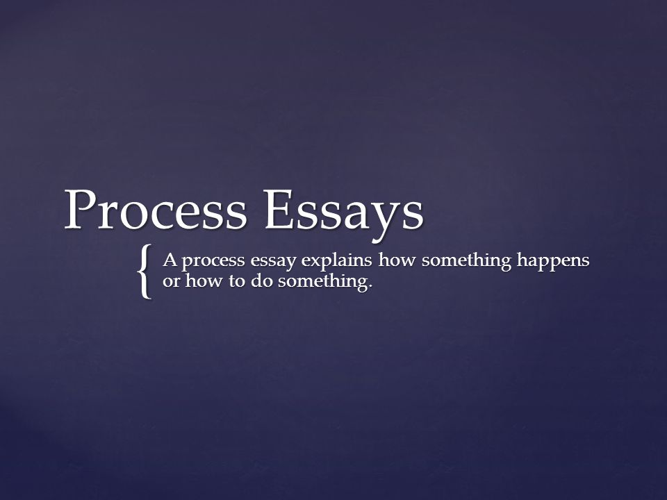 explain the essay process The purpose is to inform, describe, or explain steps in the process of writing an expository essay step 1 organizing your thoughts (brainstorming.