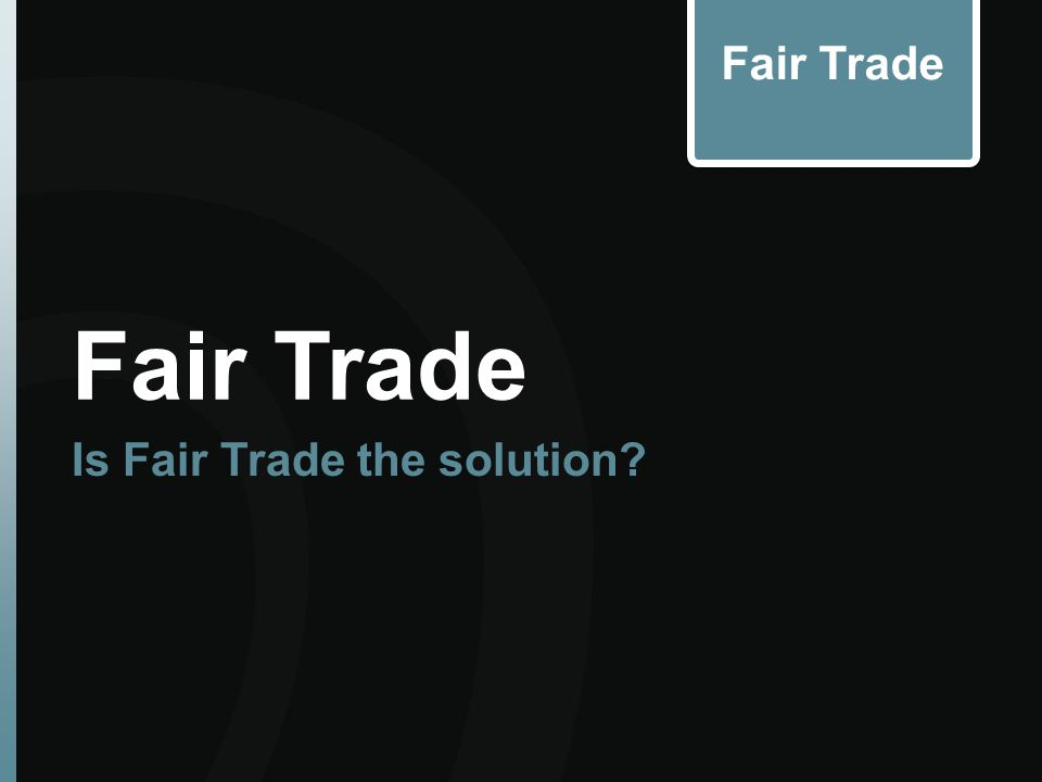Evaluate Free Trade as an option to alleviate food shortages- What do you think? Free Trade