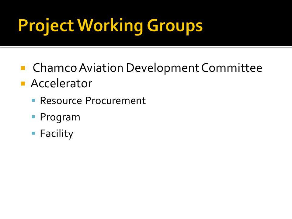  Chamco Aviation Development Committee  Accelerator  Resource Procurement  Program  Facility