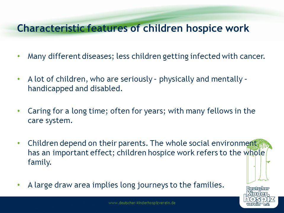www.deutscher-kinderhospizverein.de Life shortening diseases in childhood Metabolic diseases, e.g.