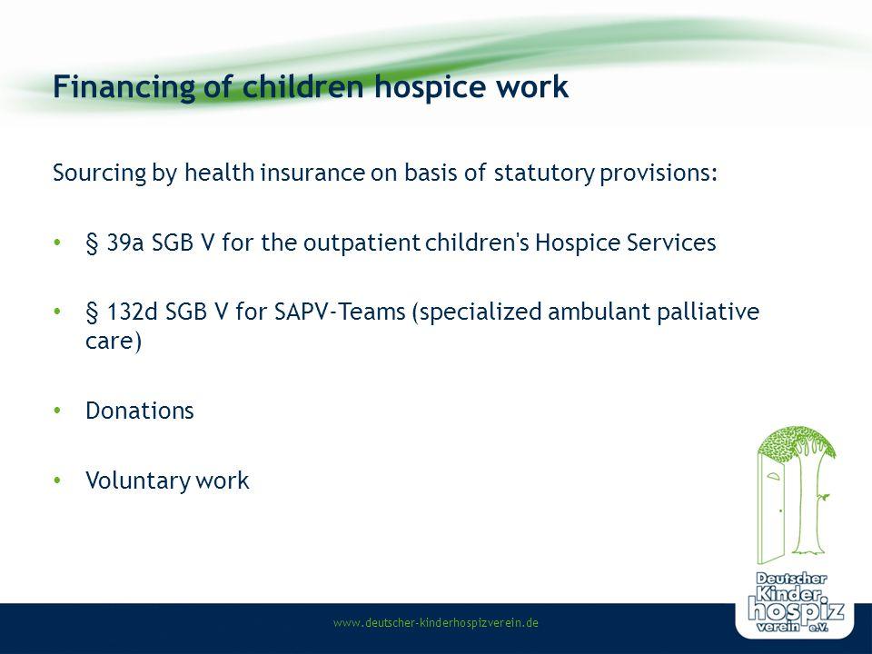 www.deutscher-kinderhospizverein.de What does outpatient children hospice work.